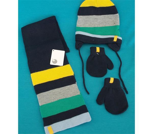calidad y cantidad asegurada producto caliente fabricación hábil conjunto gorro bufanda guantes bebé - Comercial Lizarra